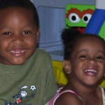 Brothers adopted from Haiti